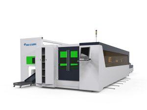 Mașină de tăiat cu laser de înaltă viteză cu tub metalic și placă de fibra de 1500w cu dispozitiv rotativ