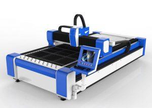 Mașină de tăiat cu laser cu fibra de 500 w pentru oțel inoxidabil / ms de mare viteză 100m / min