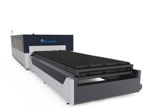 placă / tub mașină de tăiat cu laser din fibră de metal 1000 watt SUA cap de tăiere lasermech