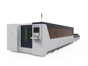 prelucrarea metalelor mașină industrială de tăiere cu laser complet acoperită de tip 1000w