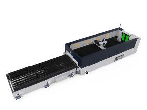 Mașină de tăiat laser cu fibre metalice de înaltă precizie, cap de tăiere cu raze de 500 w