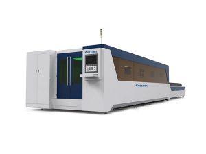 mașină de tăiat tub cu fibre laser pentru oțel ușor / oțel inoxidabil
