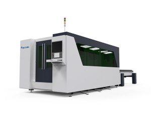 masă dublă cu mașină de tăiat cu laser cu laser cnc, mașină automată de tăiat placă cu laser