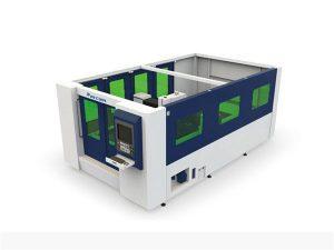 mini mașină de tăiat cu laser cu fibra de 500 w pentru tub și foaie închise