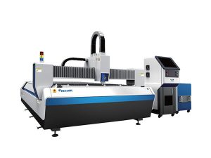 mașină de tăiat laser cu fibre cu masă de schimb
