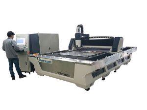 Mașină completă de tăiere cu laser cu fibre cnc închise 1000w 1080nm laser