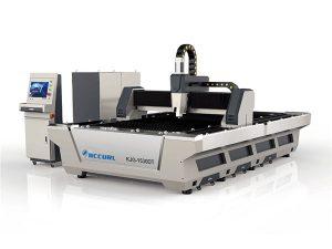 pachet automat mașină de tăiat cu laser cu fibra de cnc 3000 * 1500mm dimensiune de lucru
