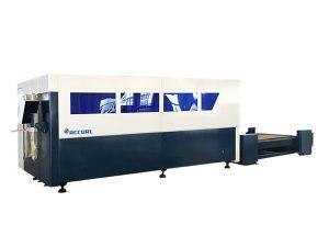 mașină de tăiat cu laser cu o singură platformă cnc, tăietor de foi metalice