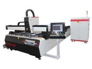 Masina de taiat cu laser 1000w 1500w pentru otel usor, viteza de taiere 45m / min