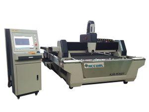 Echipamente de tăiere cu laser cu fibra de 2000w, transmisie de transmisie / cremalieră pentru tub rotund