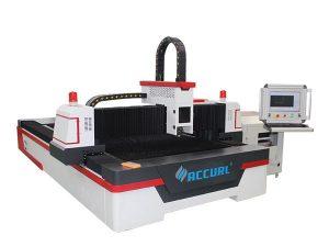tăietor cu placă de metal mic laser, mașină de tăiat cu laser cu mic de 60m / min