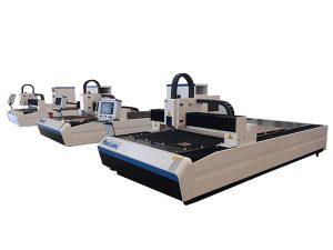 Mașină de tăiat cu laser de înaltă precizie cu motor dublu liniar pentru placă metalică