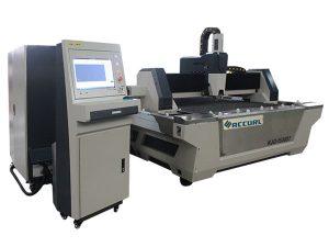 Masina de taiat cu laser cu fibra de metal cu viteza mare de taiere pentru otel carbon
