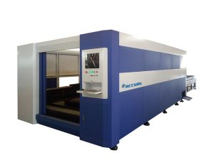 Mașină de tăiat laser din oțel laser 380v / 50Hz, freză inteligentă cu fibră optică inteligentă