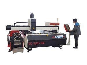 Mașină profesională de tăiere a tubului cu fibre laser sistem de cale ușoară pentru mașini