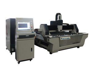 Masina de taiat laser cu fibra de cnc cu taietoare de tabla din otel inoxidabil cu masa de schimb