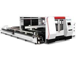 Masina de taiat cu tub laser din fibra de cnc 1000w cu sistem de control al cipalului
