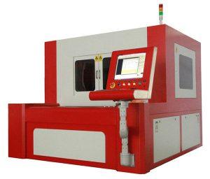 mașină de tăiat cu laser cu precizie mică din fibre pentru oțel carbon